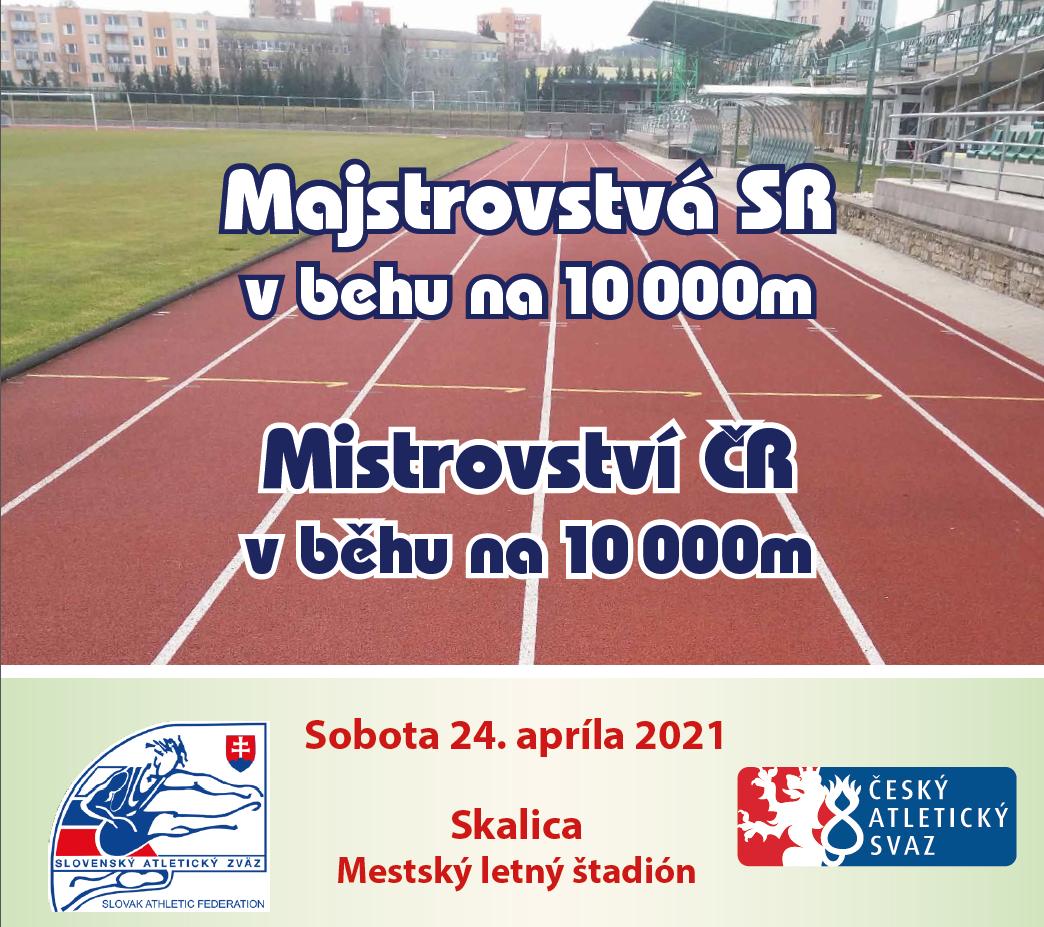 MČR v běhu na 10 000 m poprvé na Slovensku
